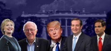 Candidats aux primaires américaines 2016