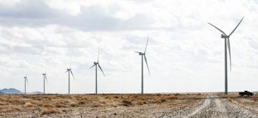 Parc éolien de Macho Springs aux États-Unis