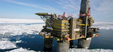 Plateforme de Gazprom