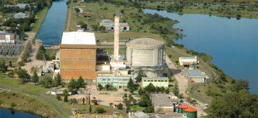 Centrale nucléaire Embalse Argentine