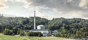Centrale nucléaire de Mühleberg en Suisse