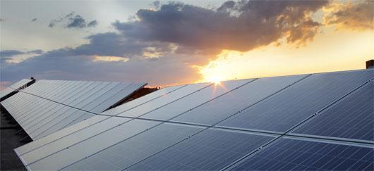 Photovoltaïque avec nuages