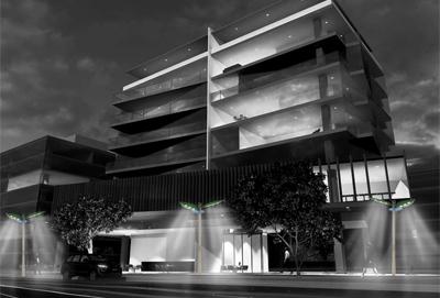 Le système IDair est encore à l'état de projet. Ses concepteurs envisagent un coût de commercialisation de 5 300 euros par lampadaire. (©Lennard Bunk)