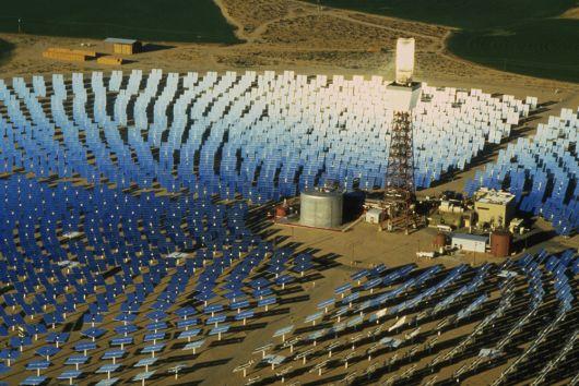 Tour solaire à concentration