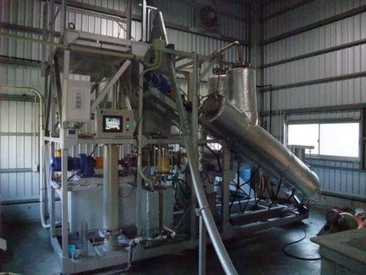 machine transformant le plastique en pétrole